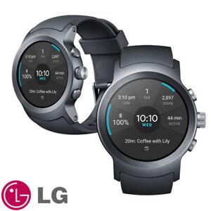 LG-Watch-Sport-W281-Android-Wear-2-0-Smart-Watch-Titan-Silver-Displayed