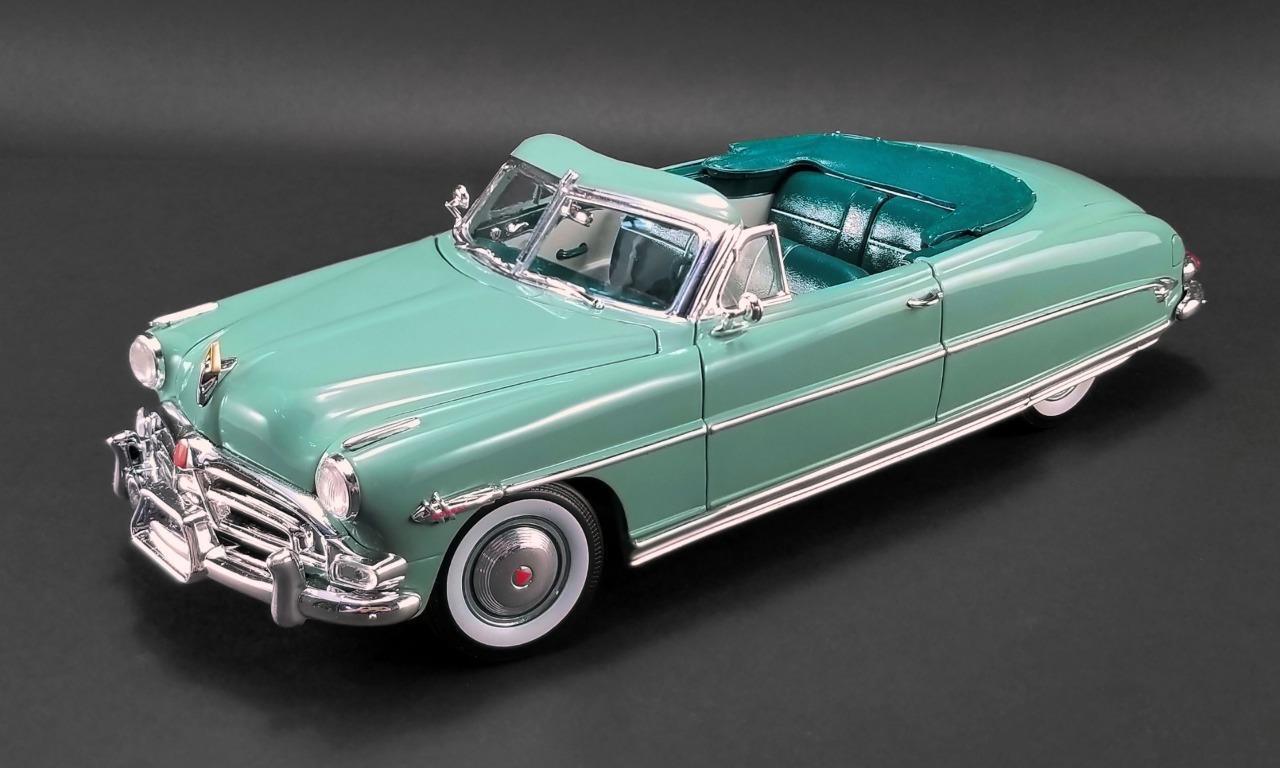 ACME 1952 Hudson Hornet Convertible Symphony Green 1:18*New Item! VERY NICE!!
