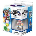 Official Nintendo Wii U Super Smash Bros Game Plus Amiibo Mario Character Bundle
