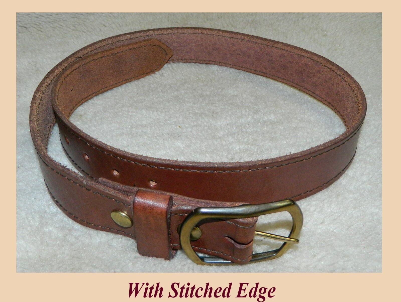 GUN or WORK Belt  9-10 oz Leder Größe 34, 1-1/2