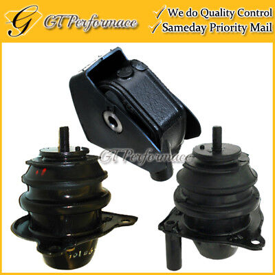 Quality Engine /& Trans Mount Set 3PCS for 2007-2008 Acura TL 3.5L Automatic