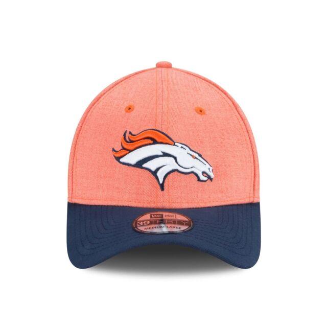 3c3693d33 Denver Broncos Change up Classic Heather 39thirty Flex Fit Cap Hat S ...