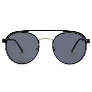 Natwve&Co Magnetic Lens Polarized Sunglasses Clip On Retro