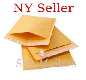 500 Kraft  4x 8 Premium MADE Kraft Bubble Padded Mailers Envelope Bags