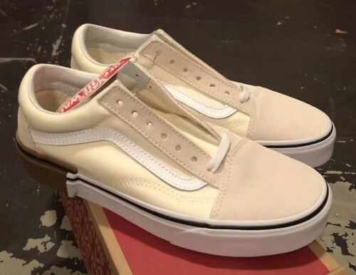 Sz Gum Block Vans Old Classic Nib 9 Skool White xPwqYqn16