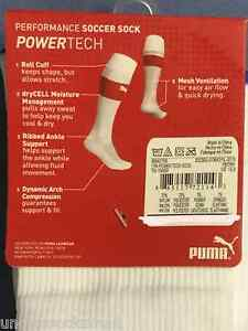 ONE PUMA DRI FIT CLASSIC FOOTBALL SOCCER SOCK SZ 8-12/L; 2-8/M; 13-3/S; 9-12/XS