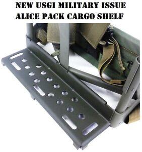 d810a692d1d7 NEW Genuine Military Issue USGI Alice Pack Frame Shelf Cargo Shelf ...