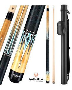 WHITE VA118 VALHALLA VIKING Two-piece Billiard Pool Cue Stick LIFETIME WARRANTY