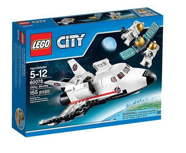 LEGO ® City 60078 l'Espace-Navette Nouveau neuf dans sa boîte _ Utility SHUTTLE NEW En parfait état, dans sa boîte scellée 60080 60079