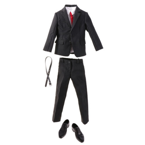 Men Clothing Business Suit Lace Up Shoes for 1//6 Scale 12/'/' Action Figures