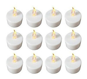 12-x-Flickering-Led-Tea-Light-Candles-Tealight-Tea-Lights-With-Free-Batteries
