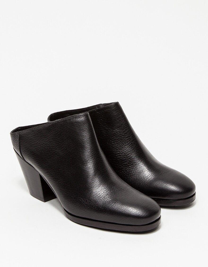 BNIB NEW RACHEL Mule COMEY Black Leather Mars Mule RACHEL Boots Shoes US sz 8 $400! 607a4f