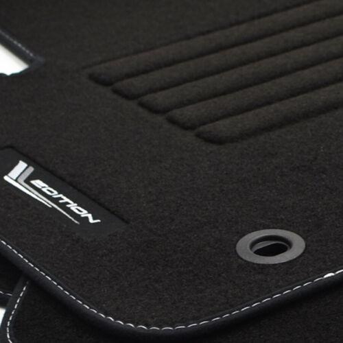 Alfombrillas profesionales gamuza Edition tapices para Ford Focus II puesto que a partir del año 2004-2012 VBS