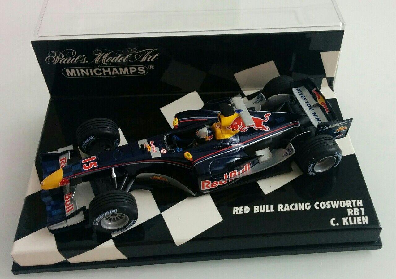 Red Bull RB1 Christian Klien 2005 1 43 Rare