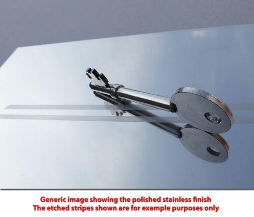 Vauxhall Corsa D 06-14 SRi Silver Steel Kick Plate Door Sill Protectors Set K110