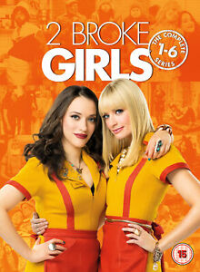 2 Broke Girls: The Complete Series 1-6 (DVD) Kat Dennings, Beth Behrs