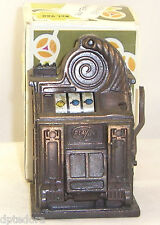 VINTAGE PLAY ME SLOT MACHINE DIE CAST PENCIL SHARPENER