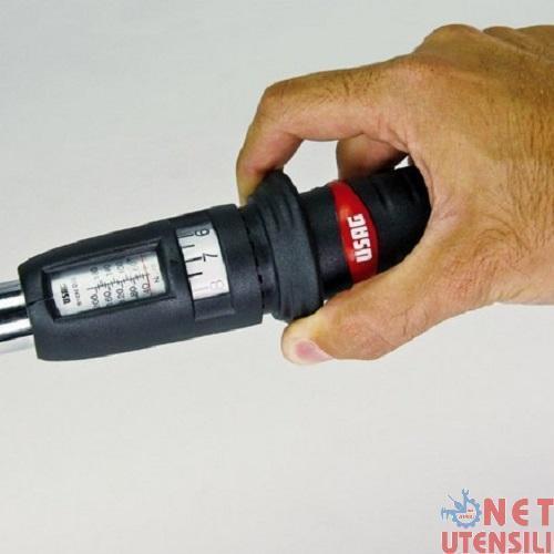 CHIAVE DINAMOMETRICA 68-340 Nm ATTACCO 1//2 USAG 810 N 340 08104006