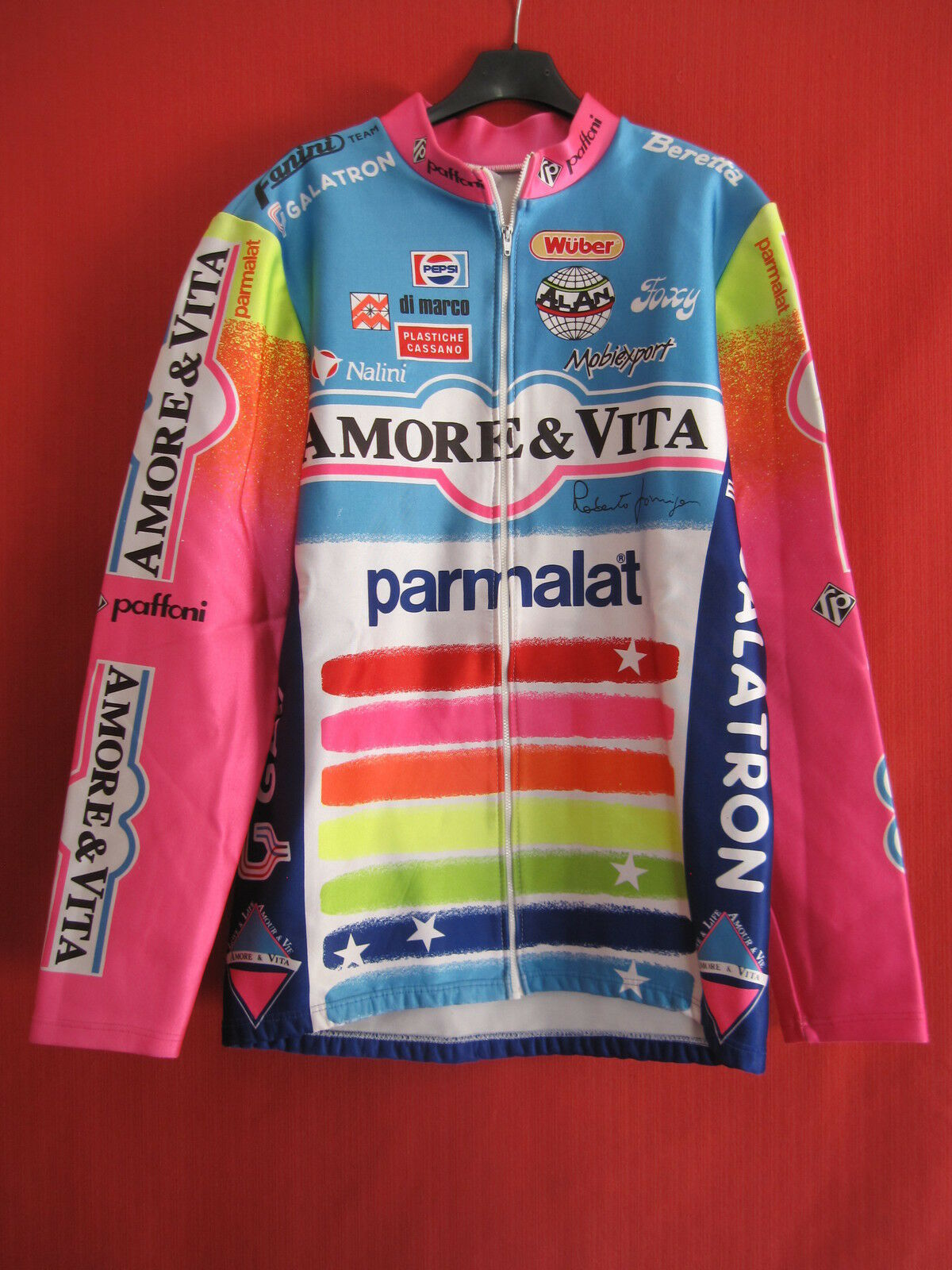 Veste cycliste Hiver Amore  Vita Parmalat 90'S Vintage Nalini - 5   XL  up to 70% off