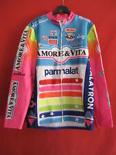 Veste cycliste Hiver Amore Vita Parmalat 90'S Vintage Nalini - 5 / XL