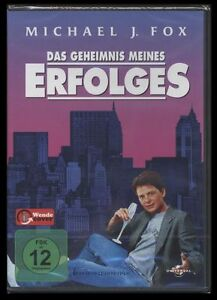 DVD DAS GEHEIMNIS MEINES ERFOLGES - MICHAEL J.FOX - 80er KULT *** NEU ***