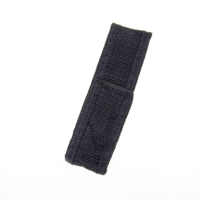 1PC 14cm Portable Nylon Holster Holder Pouch Case Flashlight Torch Belt Bag Fg