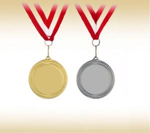 400 Stk. 250 Medaillen Ø55 mm als Rohlingsilber gold Pokal Set Sport 100