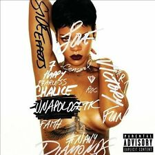 BRAND NEW SS RIHANNA UNAPOLOGETIC CD PA 2012 RAP HIP HOP DANCE EMINEM FUTURE