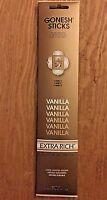 Gonesh Incense Sticks Extra Rich Collection Vanilla Incense 2 Pack 40 Sticks