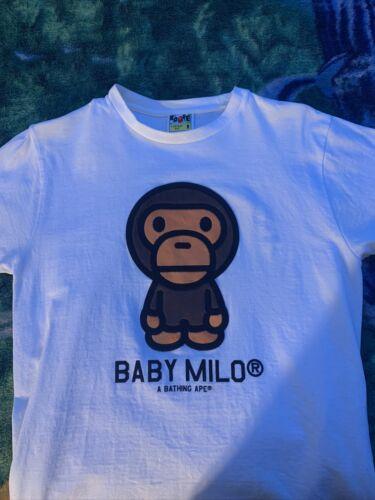 Bape Baby Milo Fur Tee Size M