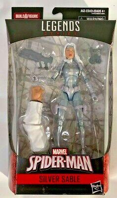 """Marvel Legends 6/"""" Inch Kingpin BAF Wave Spider-Man Silver Sable Loose Complete"""
