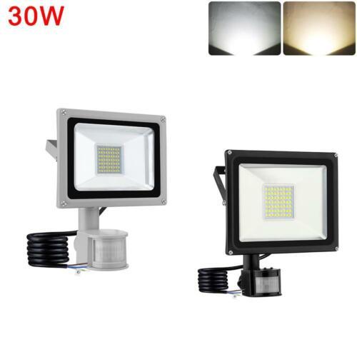 LED PIR Motion Sensor Flood Light 100W 50W 30W 20W 10W Outdoor Garden Yard Lamp