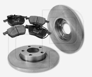 2-Bremsscheiben-und-4-Bremsbelaege-AUDI-100-A6-C4-vorne-288-mm-unbelueftet