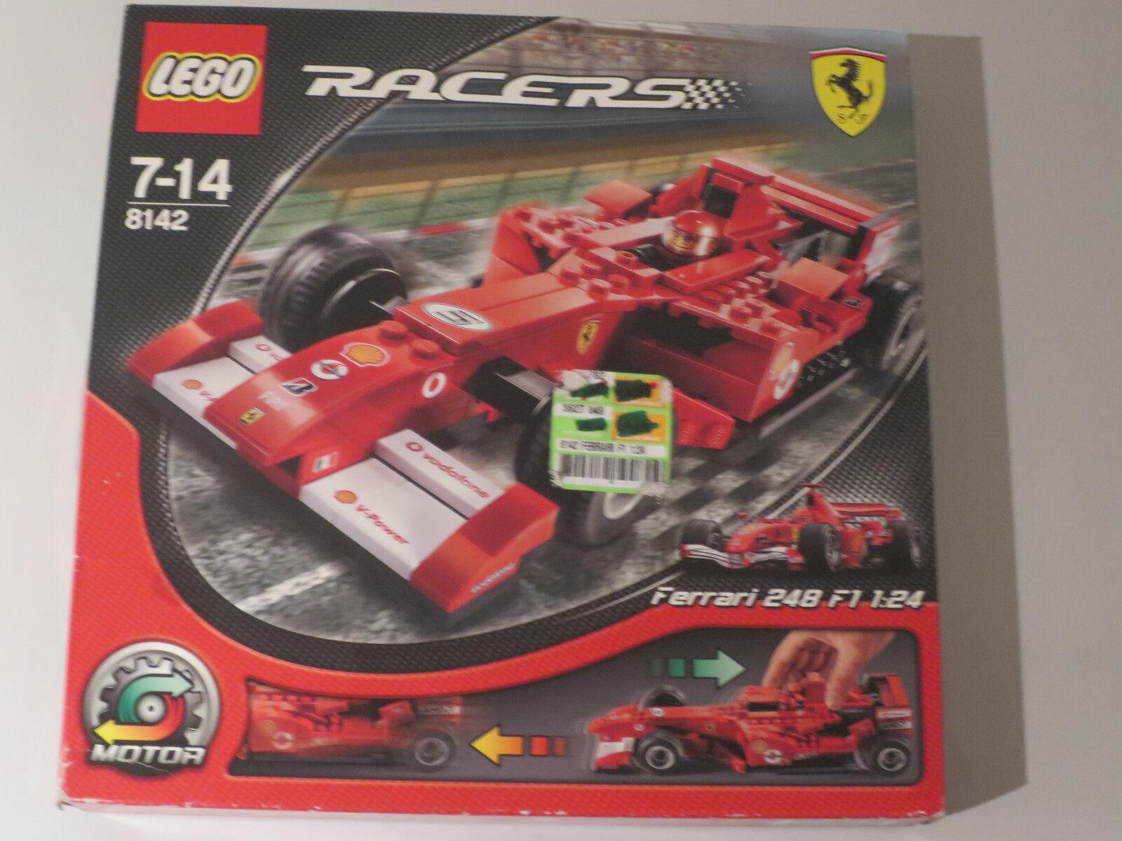 (MB) LEGO Racers 8142 Ferrari Top Neuf Emballage D'Origine  Scellé Top Rare  préférentiel