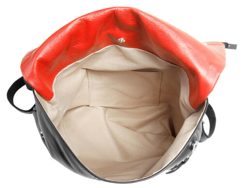 NEU Damen Cluty City-Rucksack echt Leder