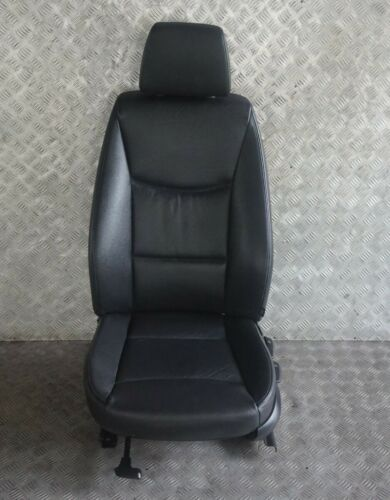 BMW 3 Série E90 E91 intérieur cuir Avant Gauche Siège passager avec airbag N//S