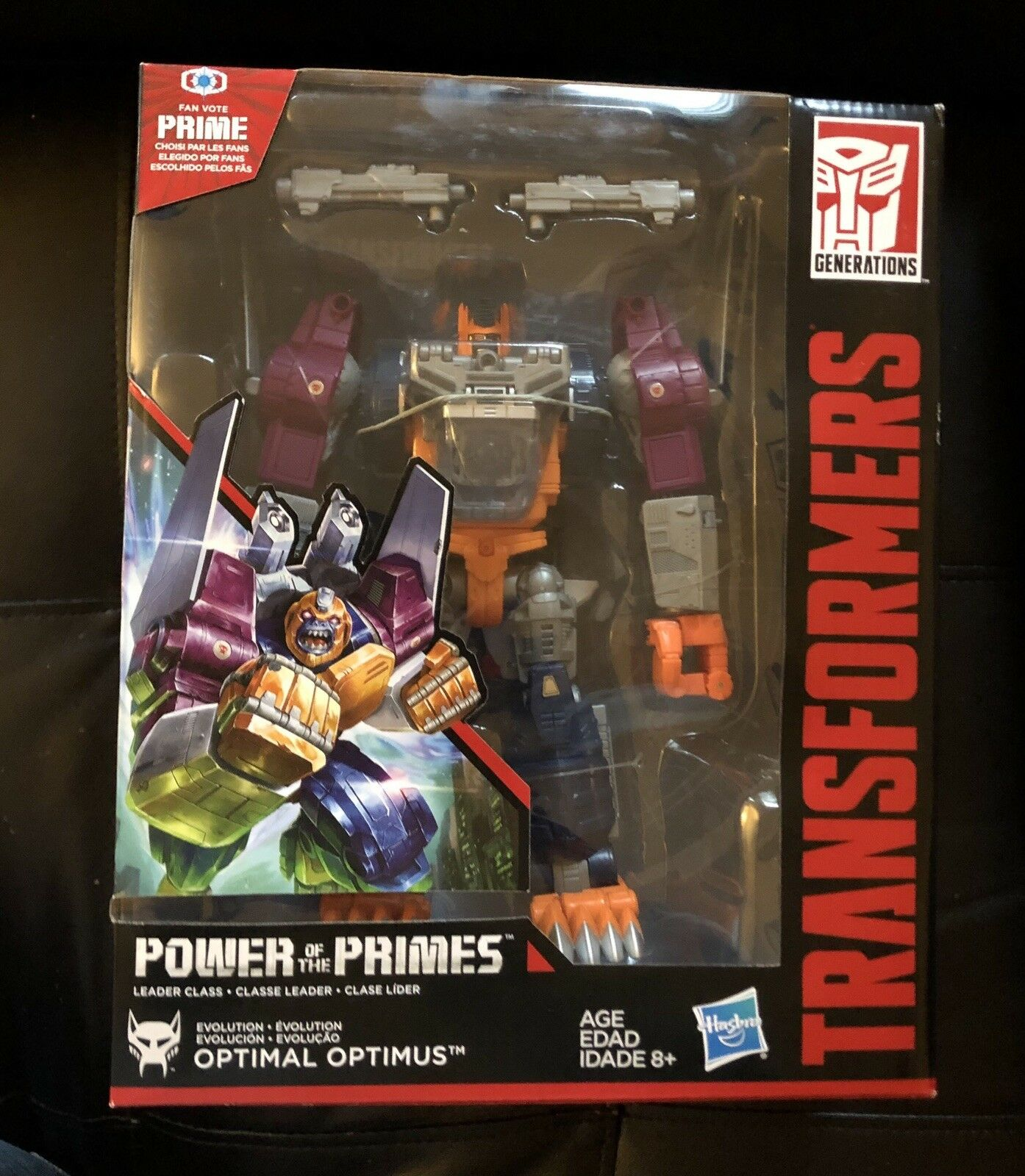 Transformers Power Of The Primes Optimal Optimus New Leader Class