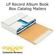 50 Premium Lp Record Album Book Box Catalog Mailers Boxes Variable Depth