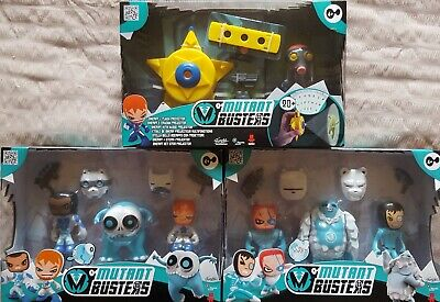 GüNstig Einkaufen Mutant Busters Snow Figures Action Toys As Seen On Tv Three Sets To Choose From