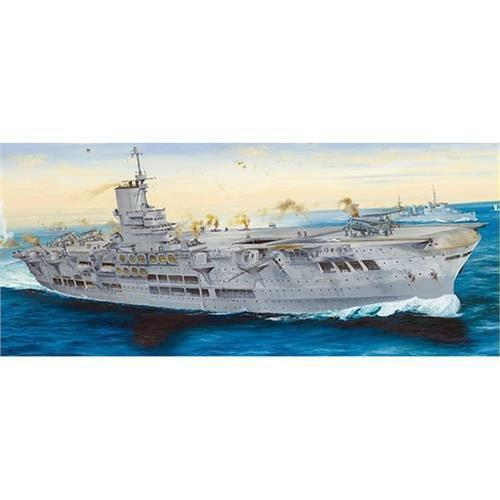 Merit International Ark Royal 1939 1 350 Scale Plastic Model Ship Kit