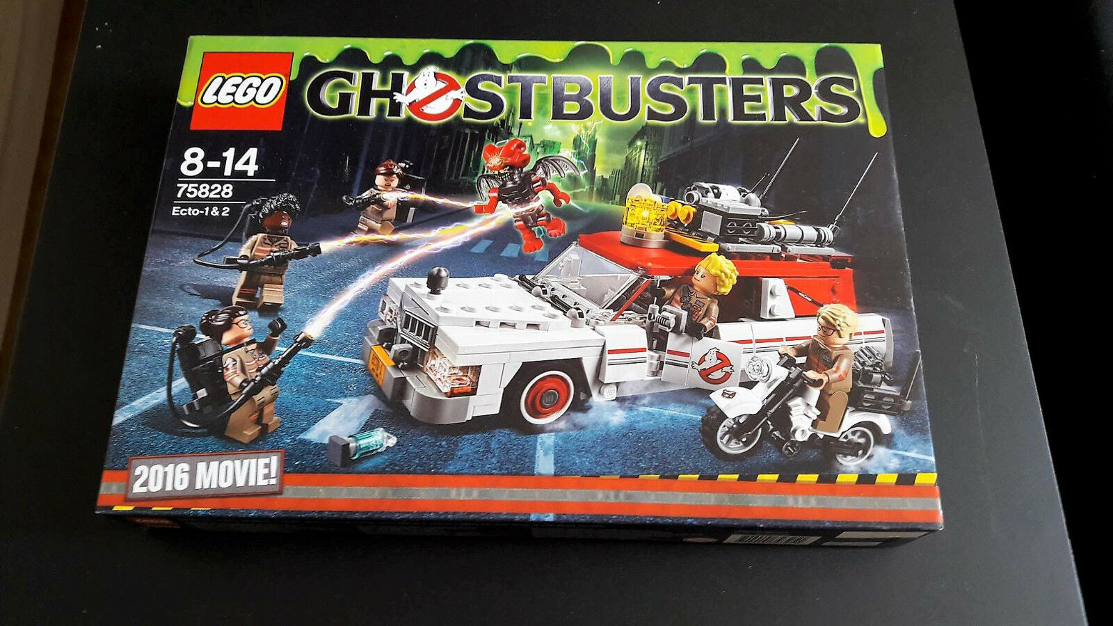 LEGO 75828 Ecto 1 & 2 (Ghostbusters Movie 2016)   NEU & OVP   New & Sealed