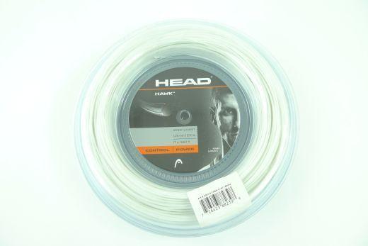 NEUHEAD HAWK Saitenrolle 200m Djokovic 1.25mm Weiß Tennis white string reel
