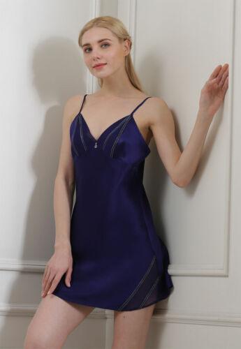 Pure Silk Womens Short Slips Chemise 1723