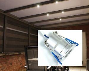 LED Terrassenbeleuchtung Spot Veranda Carport Wintergarten Set ...