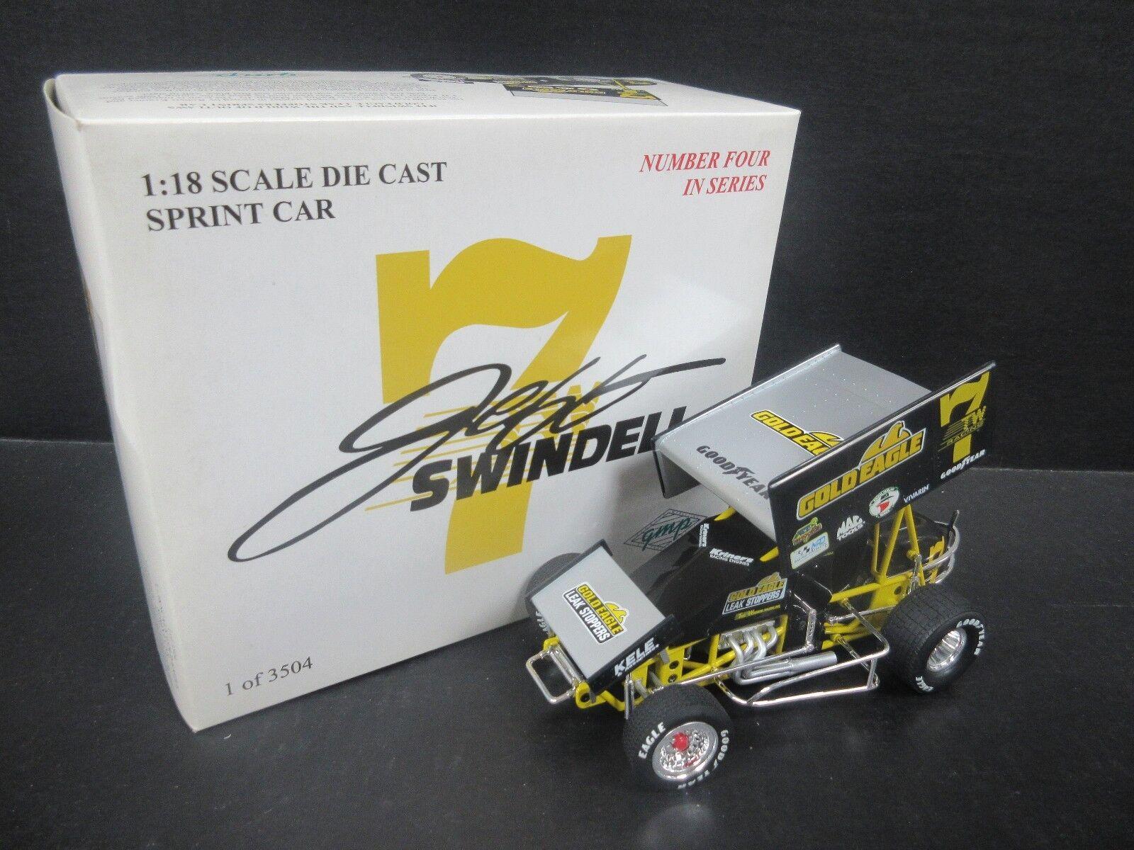 7TW Jeff Swindell  oro Eagle  1 18th coche escala Sprint