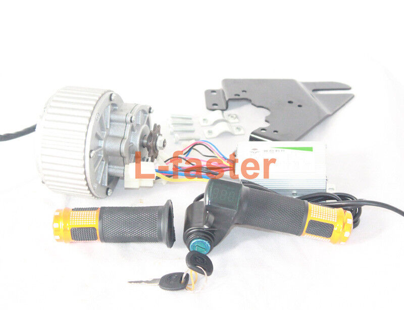 450W Electric Motor Easy Kit Controller Thredtle Key Switch  Battery Voltage  floor price