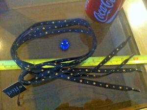 Estrella azul naranja cordones festivales Cordones Flirt Nuevo Zapato