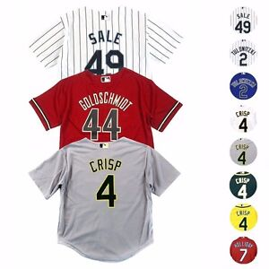 MLB-Majestic-Official-Cool-Base-Replica-Player-Jersey-Collection-Boys-Size-4-7