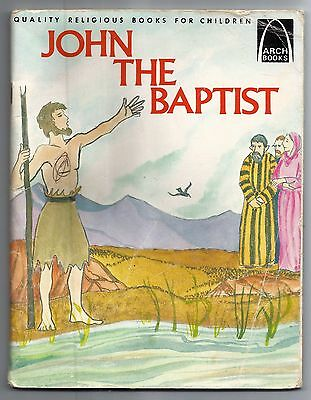 Vintage 1984 John The Baptist Ronald Klug Paperback Christian Religious Book