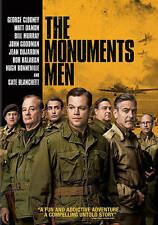 The Monuments Men (DVD, 2014, Includes Digital Copy UltraViolet)
